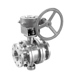 Metal Sealing Flange Fixed Ball Valve