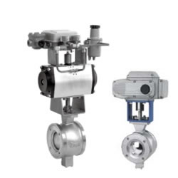 Pneumatic V Type Regulate Ball Valve