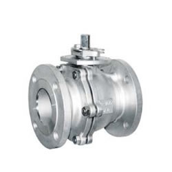 Two-Piece Floating Ball Valve