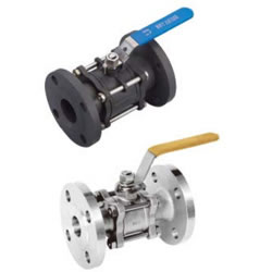 Three-Piece Flange Ball Valve