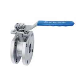 Wafer Type Ball Valve With High Mounting